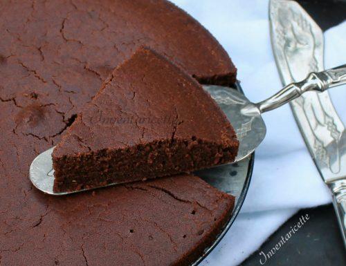 Torta al cioccolato con Farina di Riso – Senza Uova e Senza Burro