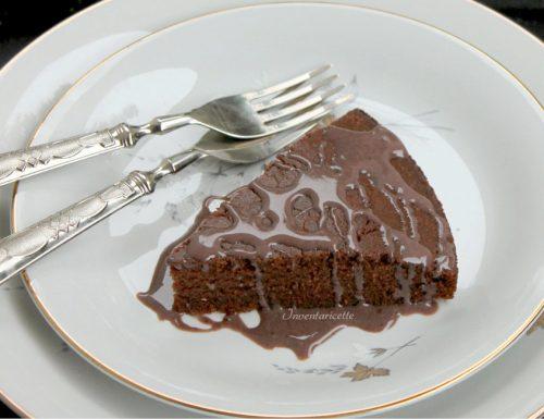 Torta Sinequanon – Torta afrodisiaca glassata al Cioccolato