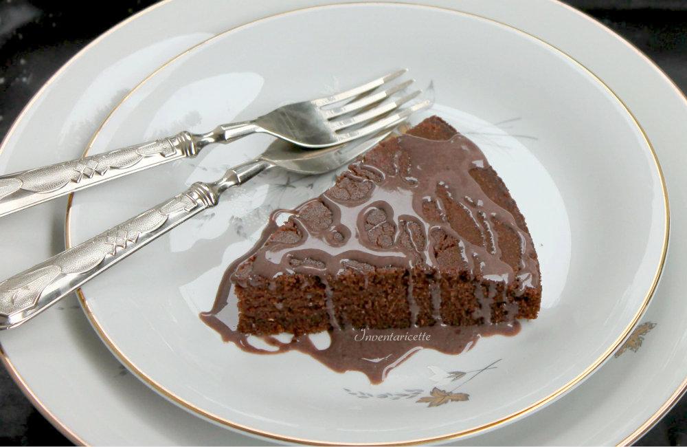 Torta Sinequanon - Torta al cioccolato senza uova e senza glutine