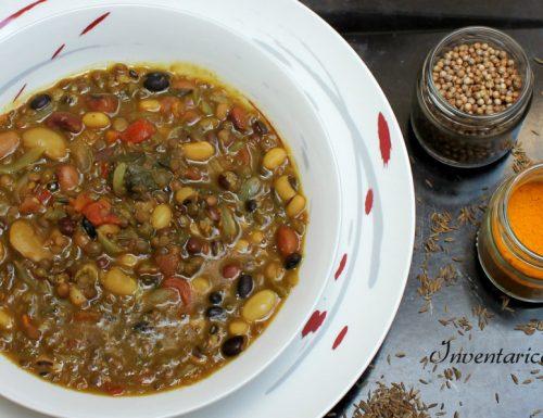 Indian Soup – Zuppa di Legumi con Spezie