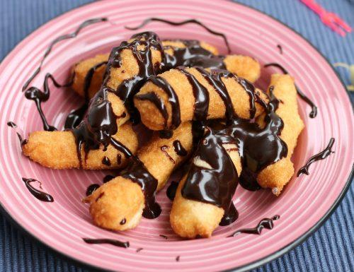 ANGIOLETTI DI STARITA angioletti fritti alla Nutella