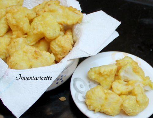 Cavolfiore Fritto in Pastella Croccante