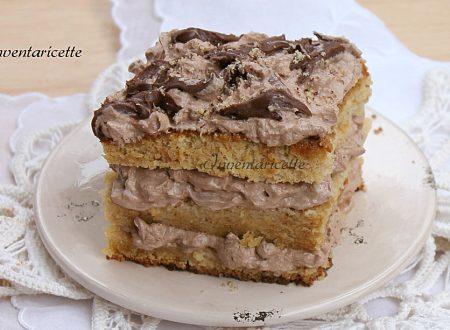 Cubo panna e nutella | Torta Facile