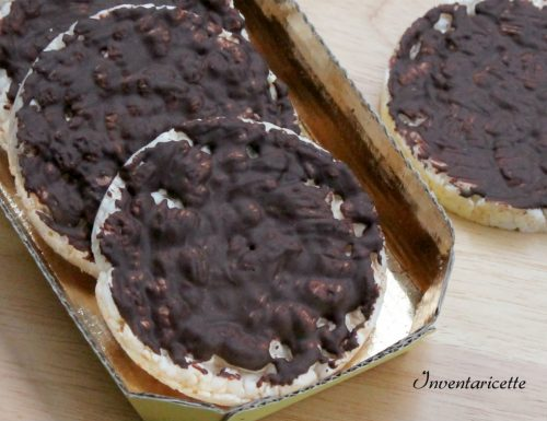 Gallette di Riso al Cioccolato Fondente