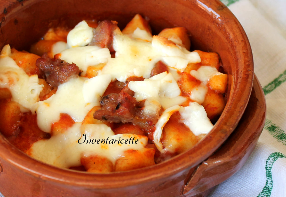 Gnocchi al Tegamino | Ricetta con Salsiccia Fresca