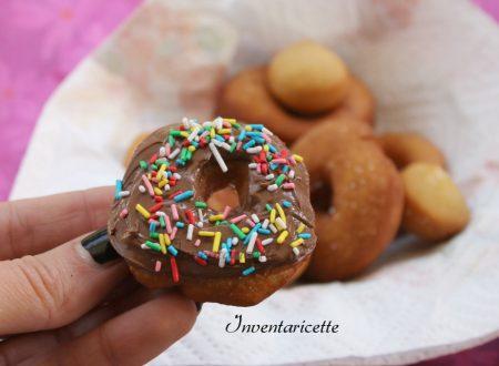 Ciambelline di Patate con Nutella
