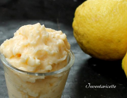 Crema Pasticcera al Limone e panna