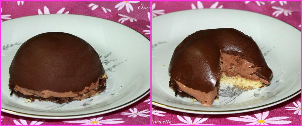 Cupolette di Semifreddo Cioccolato e Rum