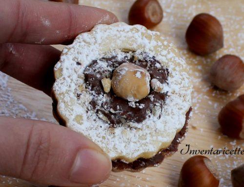 Biscotti Occhio di Bue Rocher   Ricetta Facile