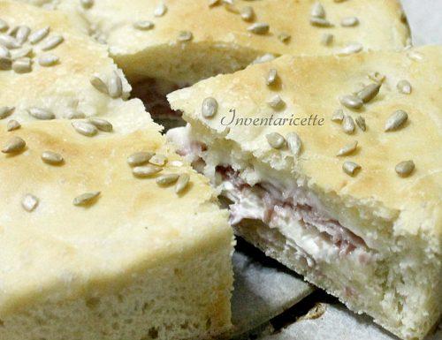 Torta Salata Farcita | Sofficissima e Leggera