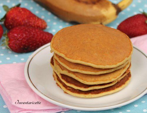 Pancakes alla Banana | Ricetta Light