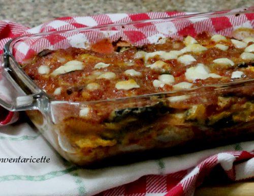 Parmigiana di melanzane | Ricetta con Mozzarella e Cotto