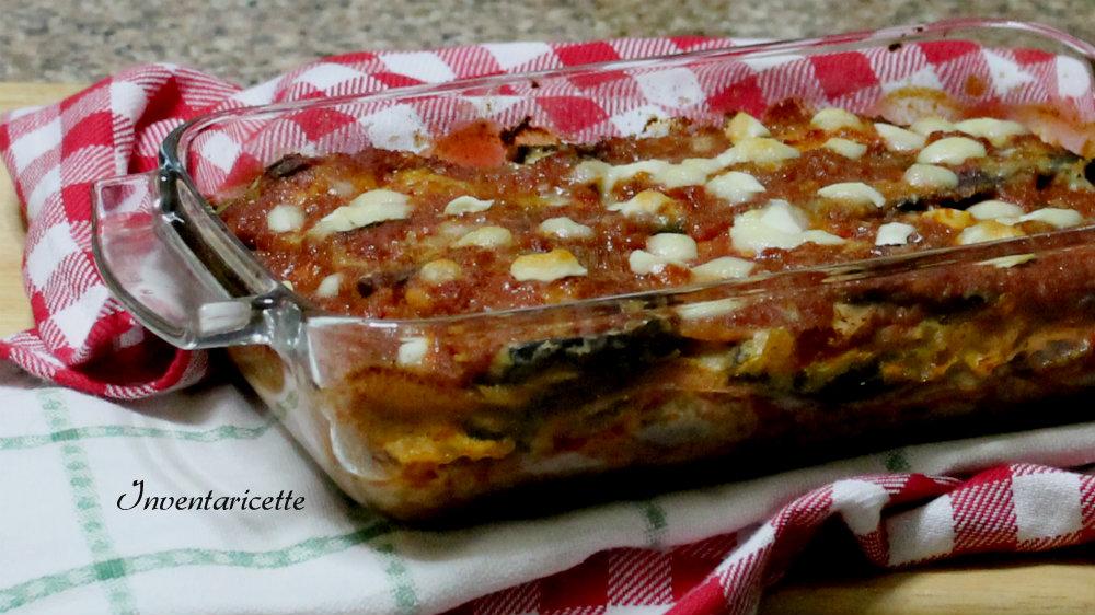 Parmigiana di melanzane   Ricetta con Mozzarella e Cotto