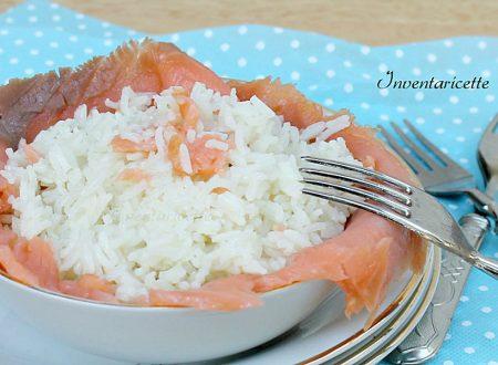 Riso al Vapore | Ricetta con Salmone e Limone