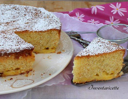 Torta Mandorlata al Limone e Cioccolato Bianco