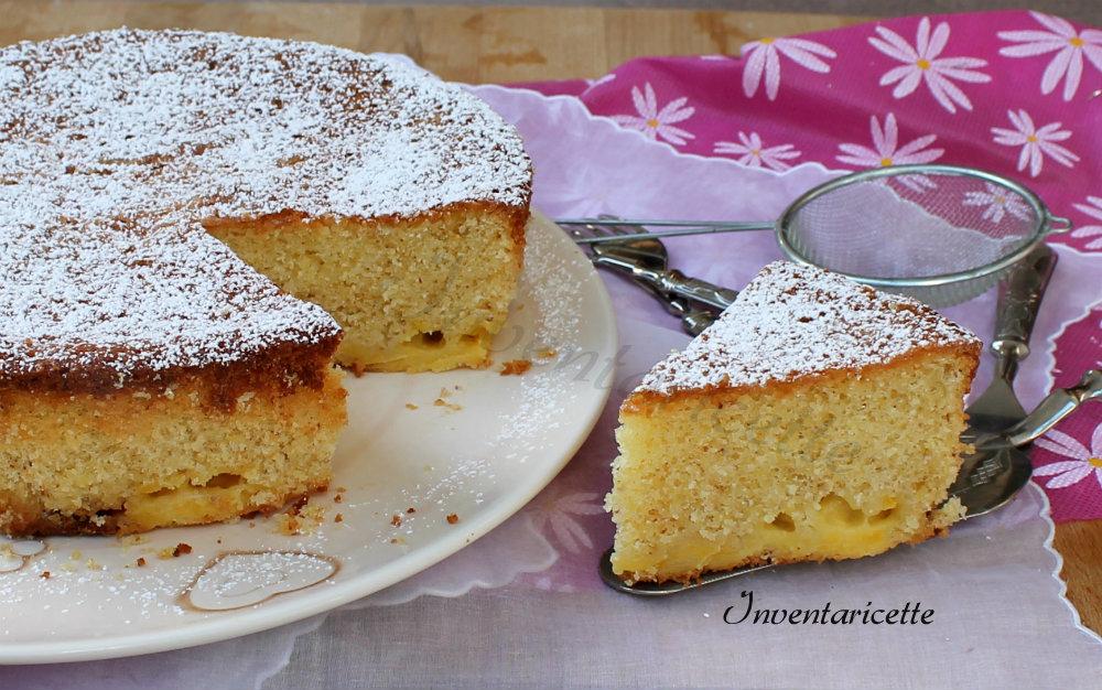 Torta Mandorlata con Crema al Limone e Cioccolato Bianco
