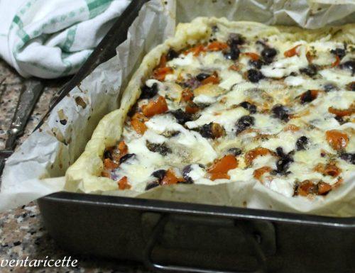 Torta salata Mediterranea | Ricetta Veloce