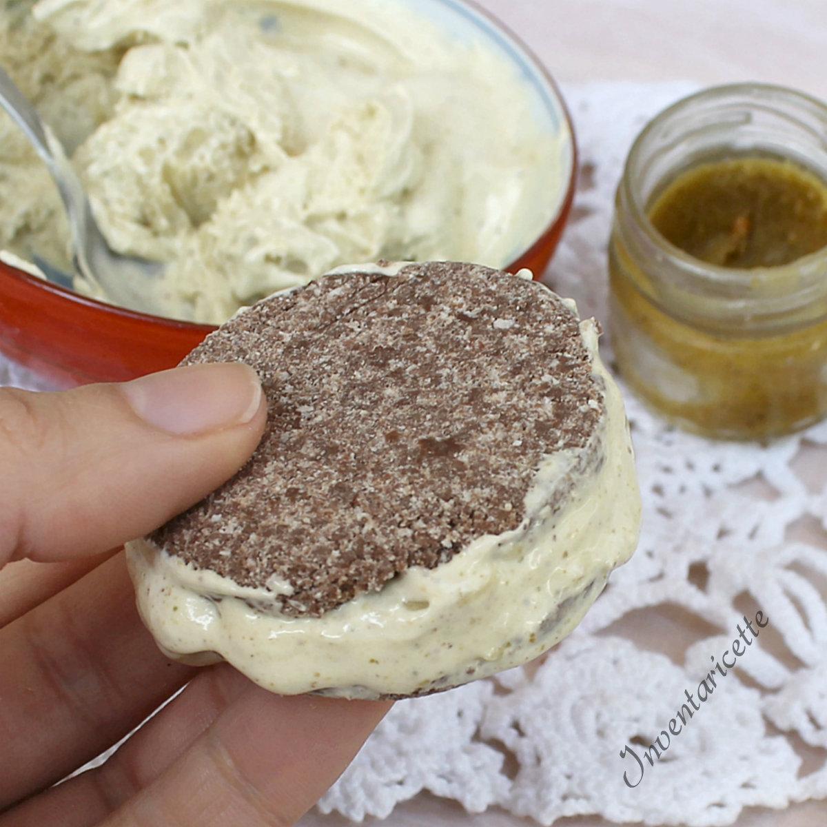 Biscotto Gelato al Pistacchio e Cioccolato   Ricetta Furba