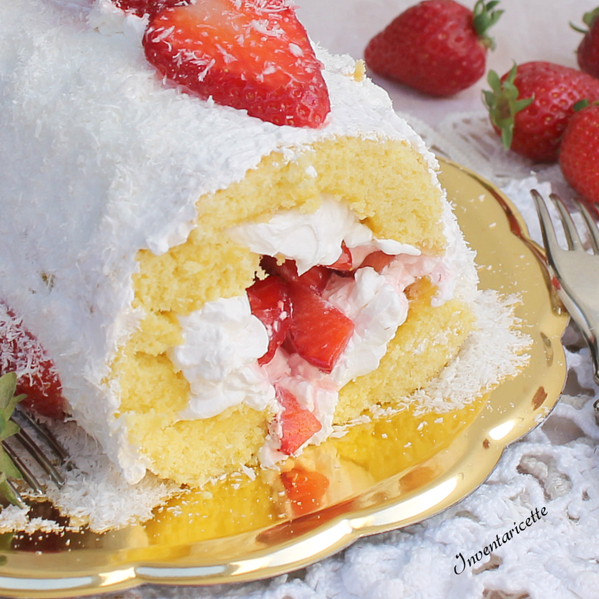 DOLCI CON LE FRAGOLE ricette torte semifreddi creme tiramisu