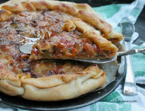 Torta Salata di Peperoni alla Paprika
