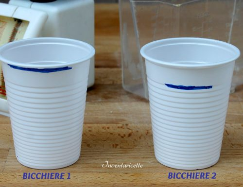 Le misure del Bicchiere