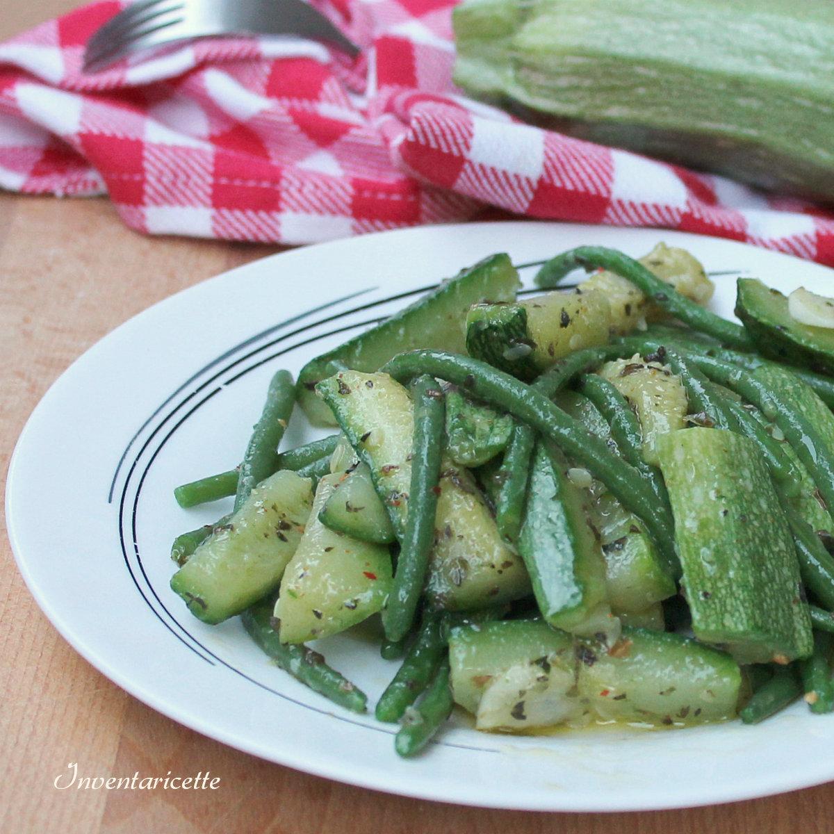 Insalata di Fagiolini e Zucchine