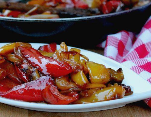 Padellata di Peperoni e Cipolle