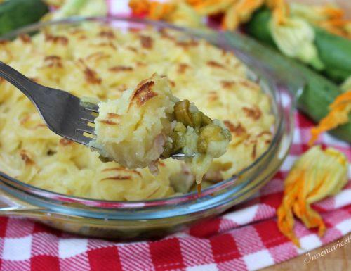 Shepherd's Pie Ricetta con Cotto e Zucchine