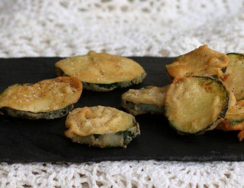 Zucchine in pastella croccante