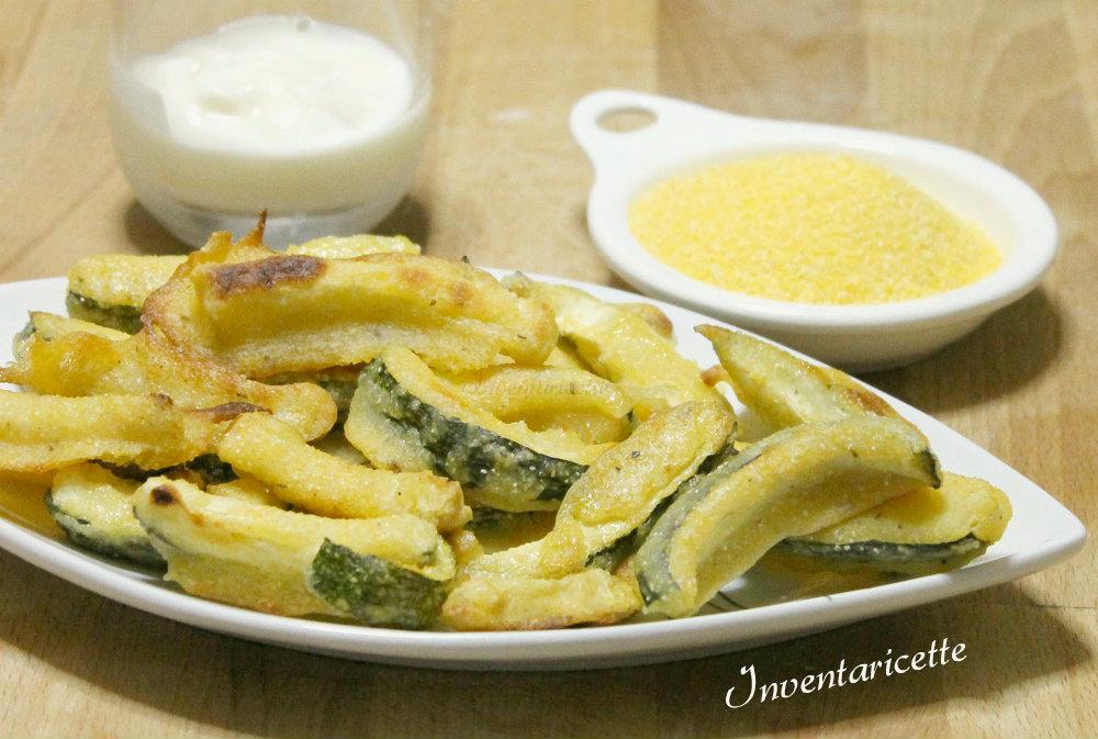 Zucchine esotiche   Zucchine al forno croccanti all'ananas