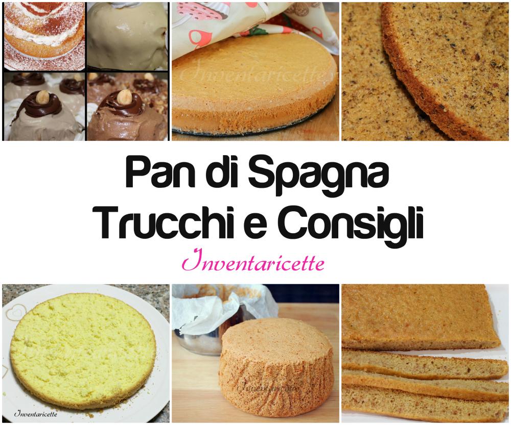 Misure teglie per Pan di spagna   Inventaricette, In cucina con Maria