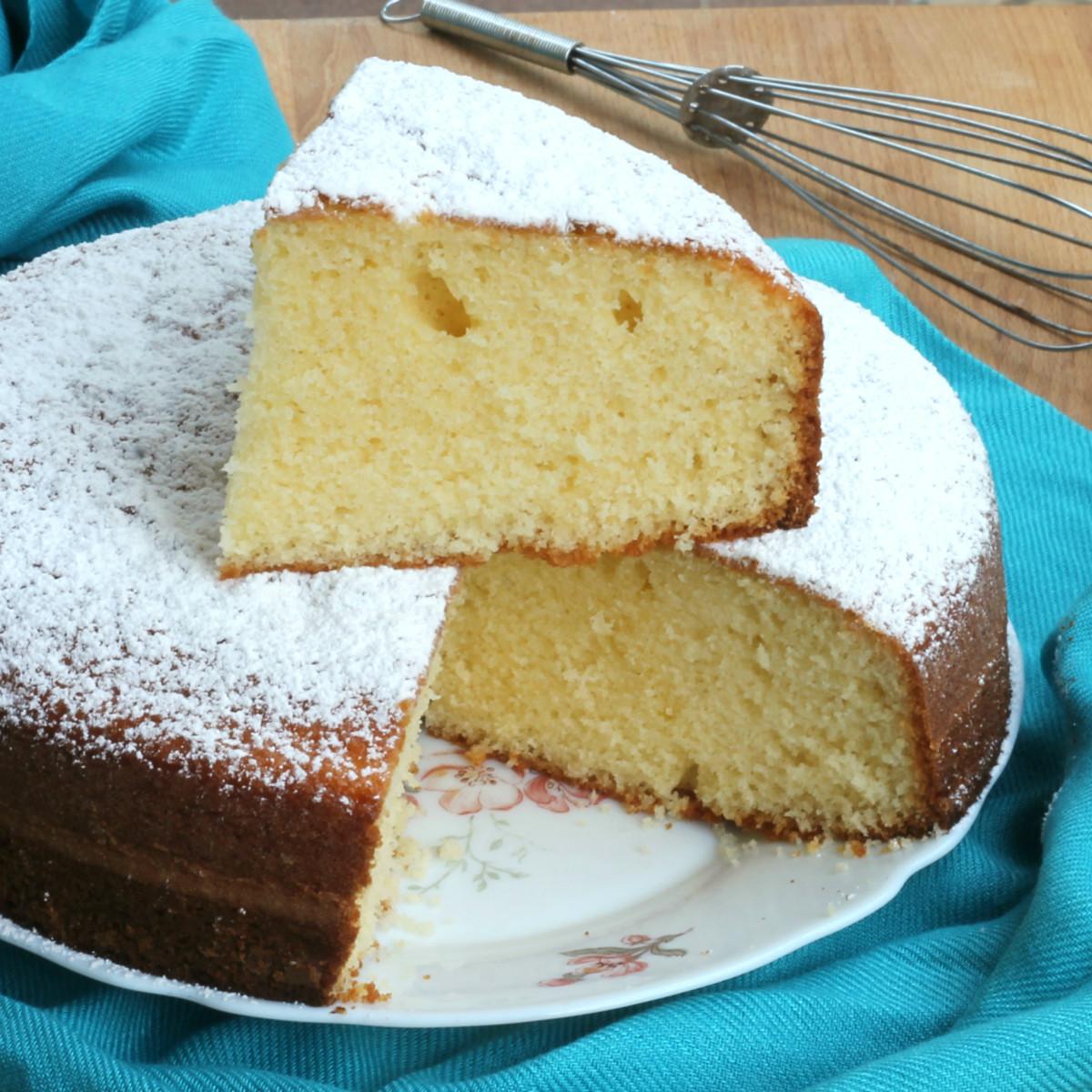 TORTA 7 VASETTI ricetta torta allo yogurt senza bilancia dolci senza burro