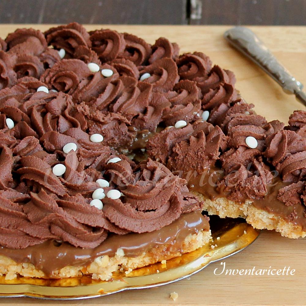 Torta fredda al caffè e triplo cioccolato   torta fredda al cioccolato