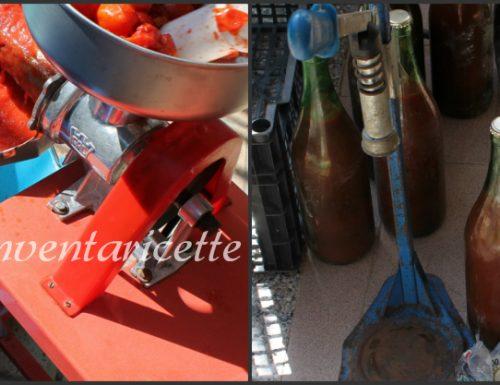 Passata di pomodoro densa fatta in casa