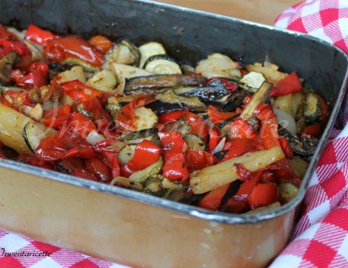 Teglia di verdure estive al forno