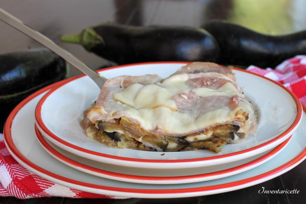 Parmigiana di melanzane bianca leggera | Inventaricette, In cucina ...
