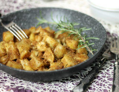 Patate sabbiose croccanti in padella