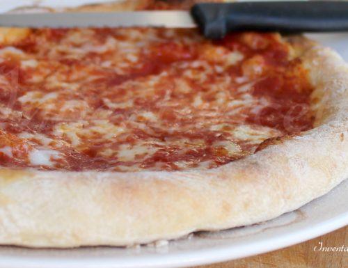 Pizza margherita come in pizzeria
