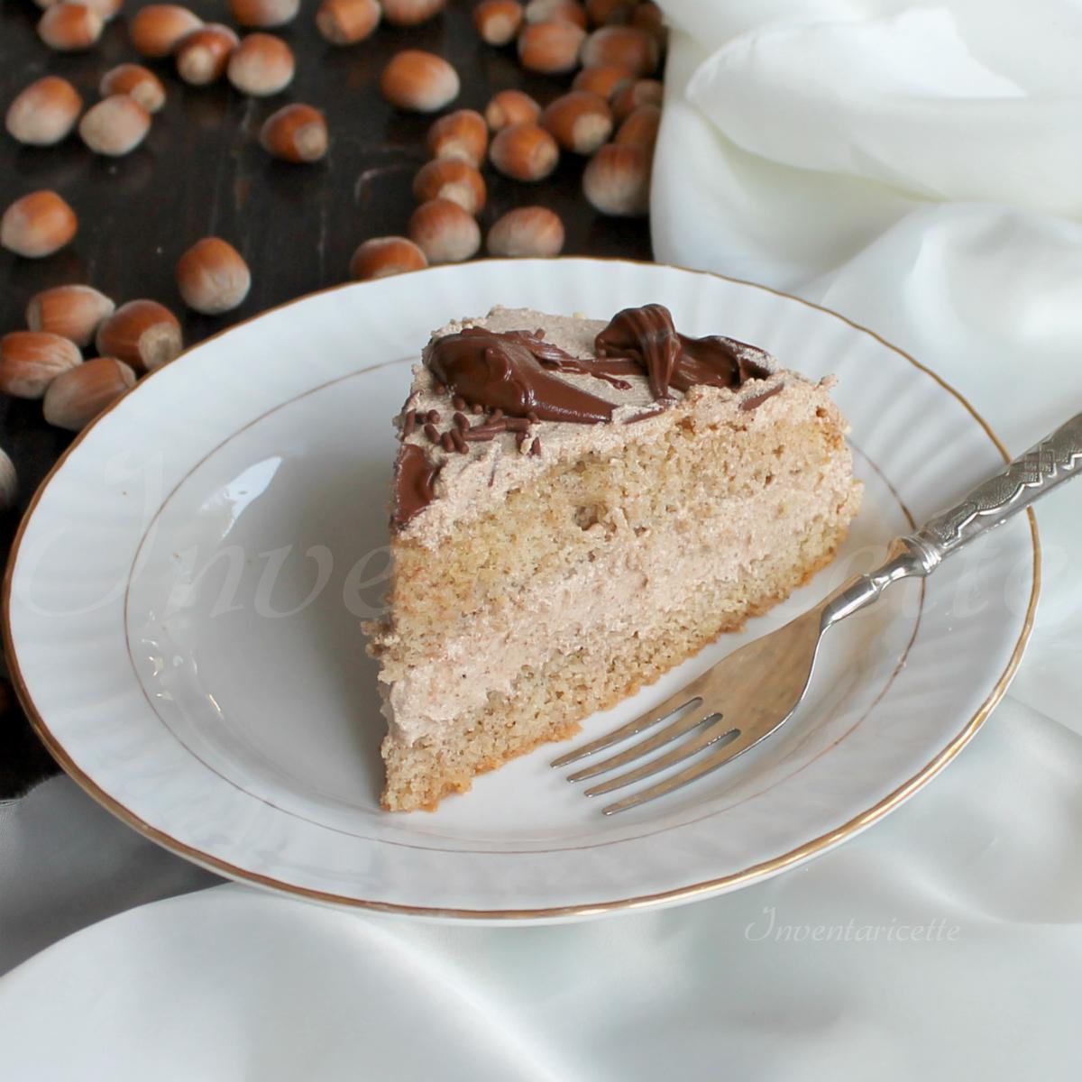 Torta Gianduiosa | Torta cioccolato e nocciole