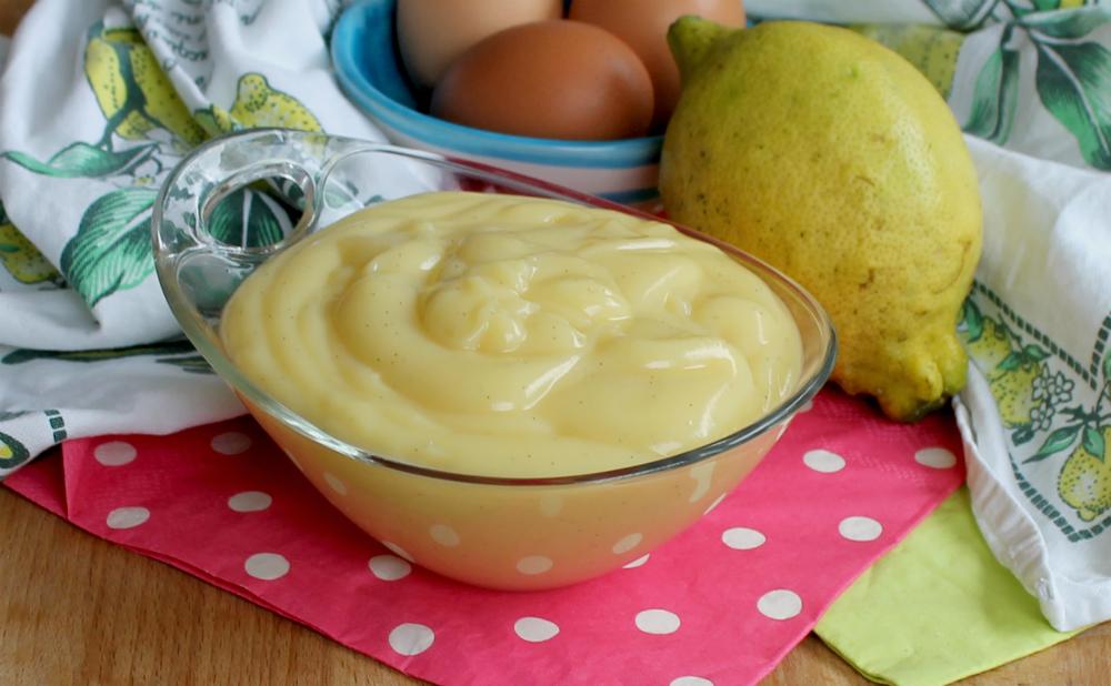 CREMA PASTICCERA LIMONE ricetta tradizionale dolce al cucchiaio