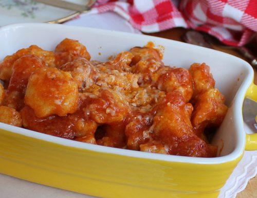 Gnocchi al parmigiano