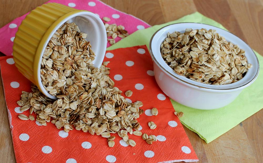 Muesli croccante fatto in casa   Granola muesli