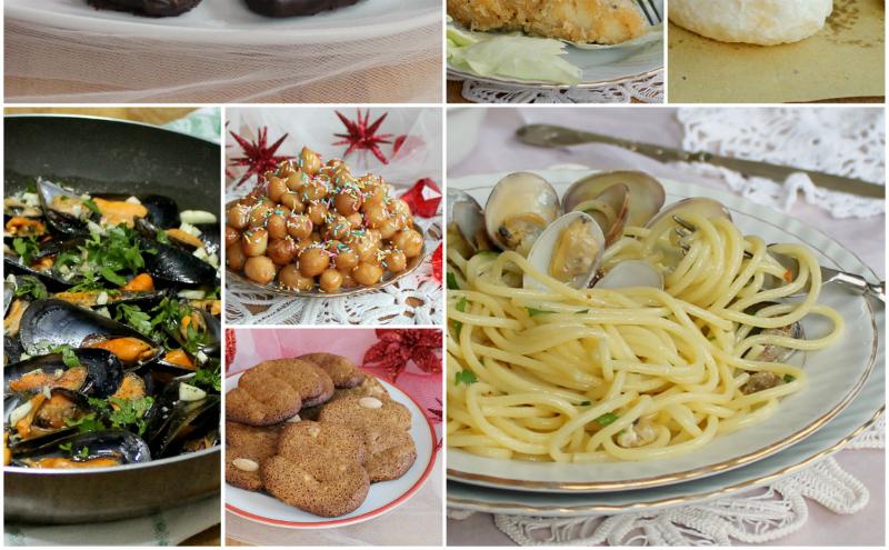 Antipasti Di Natale A Napoli.Menu Della Vigilia Di Natale Alla Napoletana Inventaricette In Cucina Con Maria