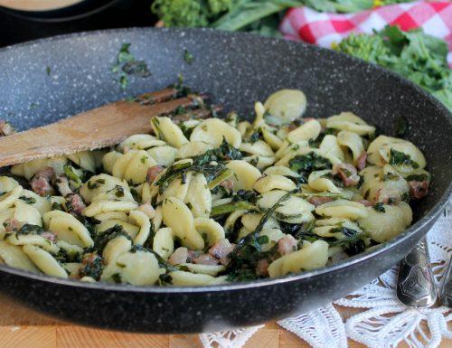 Orecchiette con friarielli e pancetta