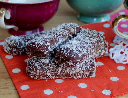 Pavesini al cacao cocco e nutella