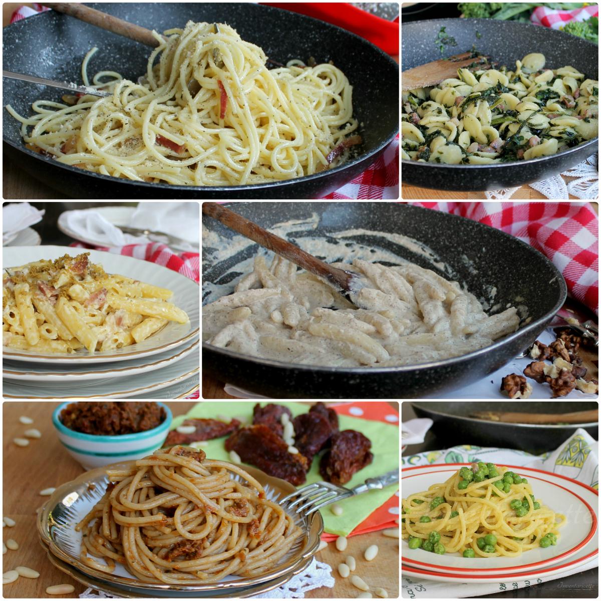 Primi piatti veloci inventaricette in cucina con maria for Primi piatti veloci