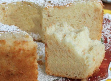 Angel cake ricetta alla vaniglia