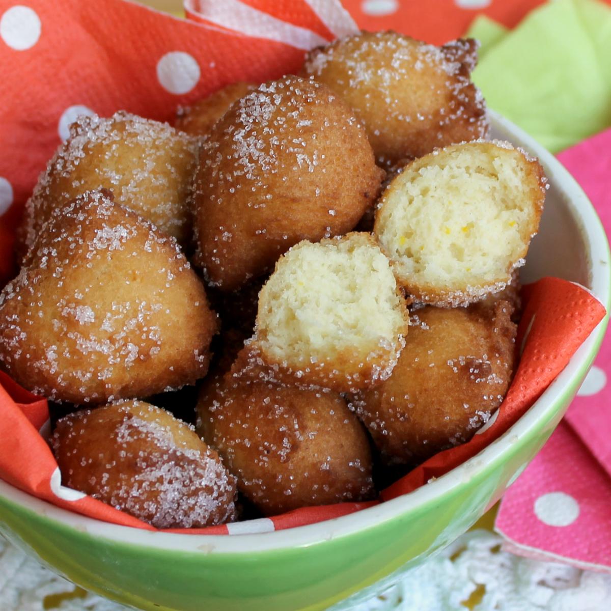 DOLCI DI CARNEVALE fritti tipici ricette 2015