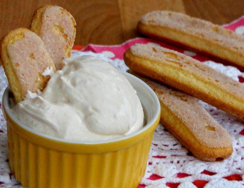 CREMA MASCARPONE E PANNA per tiramisu torte e crostate