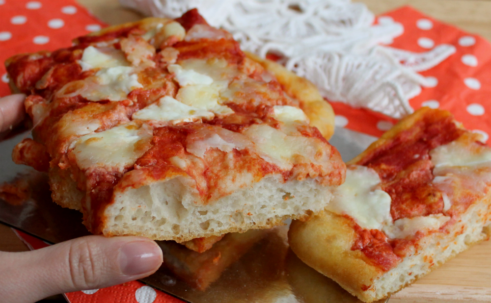 Ricetta Pizza Con Lievito Di Birra.Pizza Ad Impasto Molle Con Lievito Di Birra